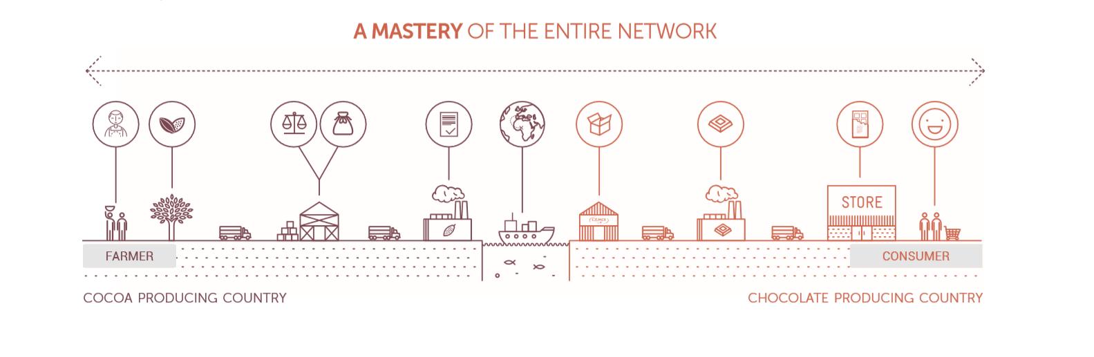 A mastery in the entire cococa network