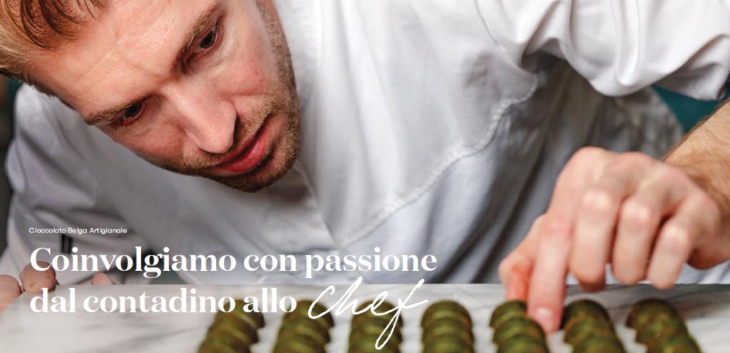 Coinvolgiamo con passione dal contadino allo chef